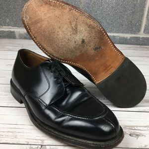 Johnston & Murphy Split Toe Apron Leather Shoes 9